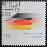 Poštovní známka Německo 2000 Reunifikace Německa Mi# 2142