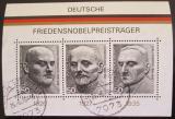 Poštovní známky Německo 1975 Osobnosti Mi# Block 11