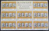 Poštovní známky Svatý Vincenc 1975 Američtí prezidenti Mi# 416
