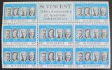 Poštovní známky Svatý Vincenc 1975 Američtí prezidenti Mi# 417