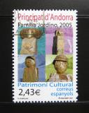 Poštovní známka Andorra Šp. 2007 Sochy, Khimoune Mi# 342