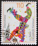 Poštovní známka Německo 2000 Karneval, Dusseldorf Mi# 2099