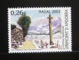 Poštovní známka Andorra Šp. 2003 Vánoce Mi# 306