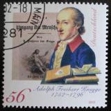 Poštovní známka Německo 2002 Adolph Freiherr Mi# 2241