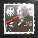 Poštovní známka Německo 1997 Kancléř Ludwig Erhard Mi# 1904
