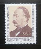 Poštovní známka Rakousko 1977 Emanuel Herrmann Mi# 1563