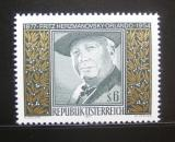 Poštovní známka Rakousko 1977 F. Hermanovsky-Orlando, básník Mi# 1547