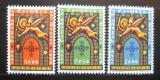 Poštovní známky Portugalsko 1965 Dobytí Coimbry Mi# 979-81