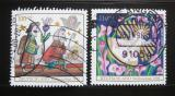 Poštovní známka Německo 1998 Vánoce Mi# 2023-24
