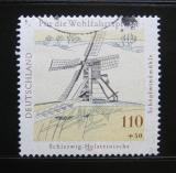 Poštovní známka Německo 1997 Větrný mlýn Mi# 1951