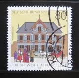Poštovní známka Německo 1991 Pošta, Lauscha Mi# 1566