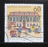 Poštovní známka Německo 1991 Pošta, Budingen Mi# 1564
