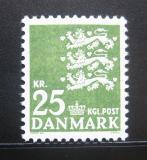 Poštovní známka Dánsko 1969 Malá státní pečeť Mi# 399 y