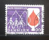 Poštovní známka Dánsko 1974 Dárcovství krve Mi# 555
