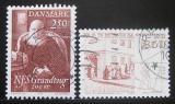Poštovní známky Dánsko 1983 Narození slavných Mi# 790-91