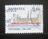 Poštovní známka Dánsko 1985 Hrad Kronborg Mi# 846