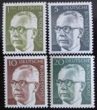 Poštovní známky Německo 1970 Prezident Heinemann, ročník Mi# 635-37,644