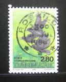 Poštovní známka Dánsko 1986 Sturnus vulgaris Mi# 873