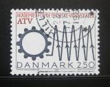 Poštovní známka Dánsko 1987 Akademie technických věd Mi# 894