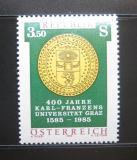 Poštovní známka Rakousko 1985 Univerzita v Grazu Mi# 1799