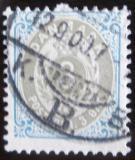 Poštovní známka Dánsko 1895 Nominální hodnota Mi# 22 I Y B b