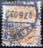 Poštovní známka Dánsko 1902 Nominální hodnota Mi# 37
