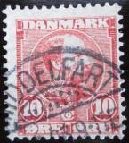 Poštovní známka Dánsko 1904 Král Christian IX. Mi# 48 I