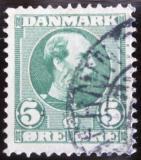 Poštovní známka Dánsko 1905 Král Christian IX. Mi# 47 II