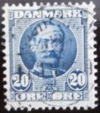 Poštovní známka Dánsko 1907 Král Frederik VIII Mi# 55 a