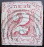 Poštovní známka Thurn a Taxis 1861 Číselná hodnota Mi# 16 Kat 50€