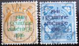 Poštovní známky Irsko 1941 Rebelie roku 1916 Mi# 83-84 Kat 21.20€