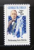 Poštovní známka USA 1978 George M. Cohan, herec Mi# 1353