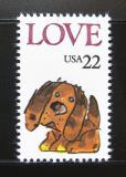 Poštovní známka USA 1986 Láska Mi# 1787