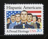Poštovní známka USA 1984 Hispánci v Americe Mi# 1718
