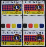 Poštovní známky Surinam 1982 Lions Intl. Mi# 983-84