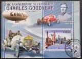 Poštovní známka Togo 2010 Charles Goodyear Mi# Block 567 Kat 12€