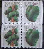 Poštovní známky Surinam 1980 Ovoce, ze sešitku Mi# 840,42 D