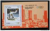 Poštovní známka Kuba 1983 LOH Los Angeles Mi# Block 75