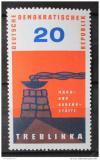 Poštovní známka DDR 1963 Památník v Treblince Mi# 975