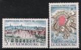 Poštovní známky Lucembursko 1967 Londýnská dohoda Mi# 746-47