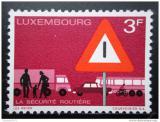 Poštovní známka Lucembursko 1970 Bezpečnost silničního provozu Mi# 809
