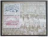 Poštovní známky OSN New York 1995 Výročí OSN Mi# Block 12