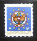 Poštovní známka Rakousko 1975 Kongres evropských měst Mi# 1484