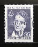 Poštovní známka Rakousko 1978 Lise Meitner, fyzička Mi# 1588