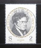 Poštovní známka Rakousko 1972 Franz Grillparzer, básník Mi# 1381