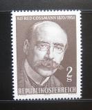 Poštovní známka Rakousko 1970 Alfred Cossmann, rytec Mi# 1342