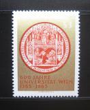 Poštovní známka Rakousko 1965 Vídeňská univerzita Mi# 1180