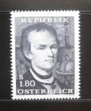 Poštovní známka Rakousko 1966 Peter Anich, kartograf Mi# 1216