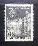 Poštovní známka Rakousko 1966 Ústředí PTT Mi# 1202
