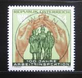 Poštovní známka Rakousko 1983 Inspekce práce Mi# 1735
